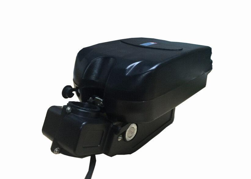 Black 10Ah 48v Electric Bike Batteries Frog Case for 500W Motor Bicycle