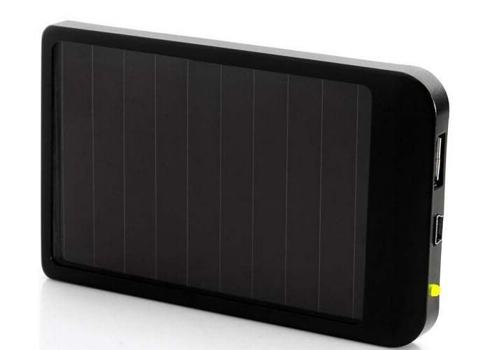 2600mah Solar Portable Power Bank Battery Charger One Year Warranty