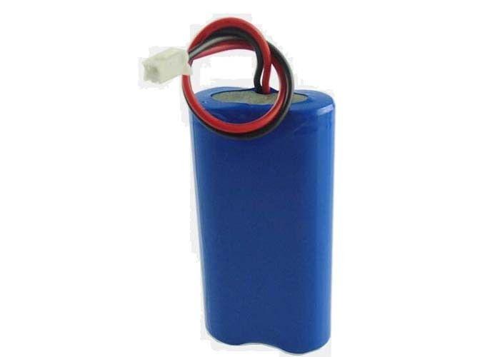 OEM 18650 LED Torch Custom Lithium Ion Battery Pack 7.4V 2600MAH
