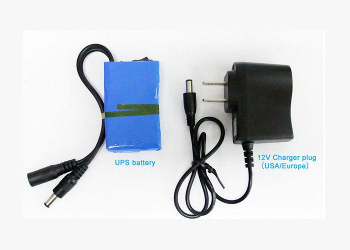 CCTV Camera / LED Strip Li Ion Battery Pack 12V 6800mAh Environment Friendly
