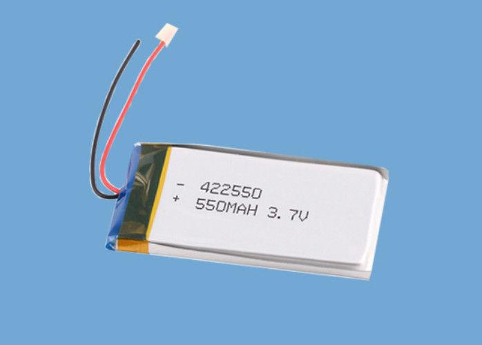 Small 3.7V 422550 550mAh li - polymer battery pack For Digital Product