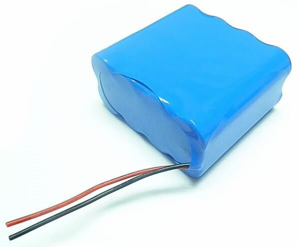 Christmas Light Rechargeable Li Ion Battery Pack 7.4V 10400mAh 2S4P Fast Charge