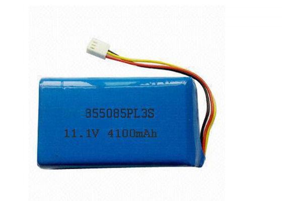 China 2S Lithium Polymer Batteries 7.4V Lipo Portable 4100mah Battery Pack distributor