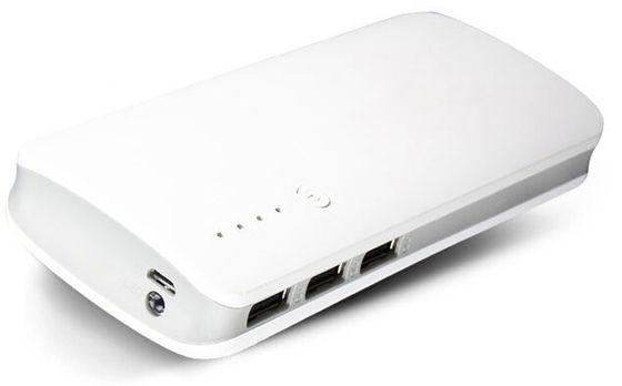 China DC 5V 3 USB Power Bank High Capacity 13000mAh Portable Charger distributor