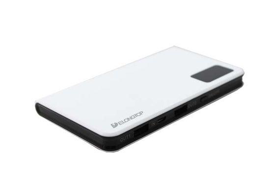 China Smart Display 10000mah Pocket Li Polymer Power Bank Dual USB  Mosaic Design distributor